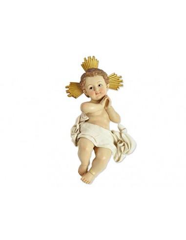 le stelle srl Statuetta Bambino Gesù Resina 30177 18 cm