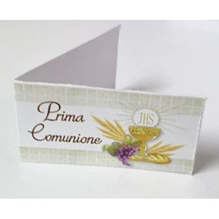 PuntoCasaStore 20 Bigliettini bomboniera Calice Comunione