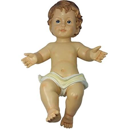 GESU' BAMBINO PRESEPE CM 33 STATUA BABY JESUS