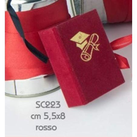 Scatolina Libro Laurea Nero portaconfetti porta confetti